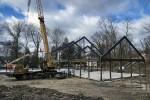 Quaker construction site