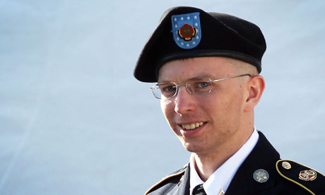 Bradley Manning at Fort Meade