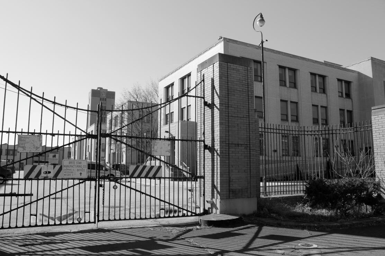Entrance to the Delaware Valley Intelligence Center in South Philadelphia. Photo: Dustin Slaughter