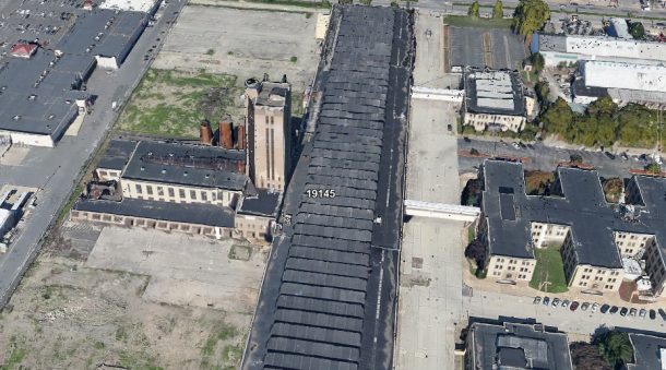 3-D Image of the DVIC property, using Google Earth