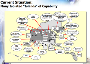 Regional intelligence resources, from a 2003 slide by a current DVIC board member