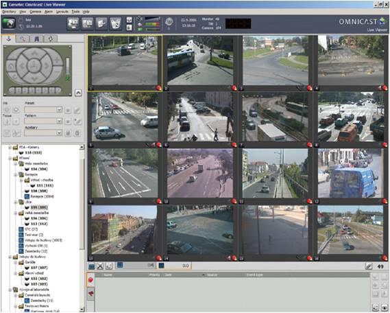 Genetec's Omnicast surveillance platform
