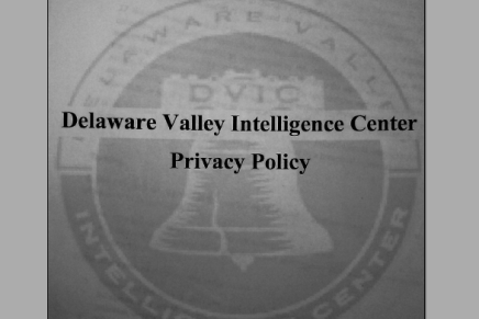 A Fusion Center Finds Its Privacy Policy