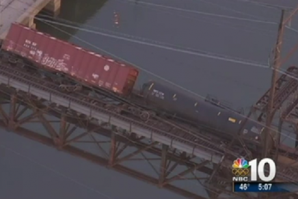 "Officials: Philadelphia's ""All-Hazards"" Fusion Center Did Not Monitor Train Derailment, Oil Spill"