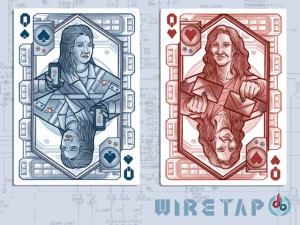 Karen Kwiatkowski and Laura Poitras, Queens of Spades and Hearts