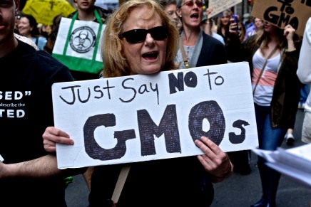 Philadelphians March Through Center City to Protest Monsanto, GMOs