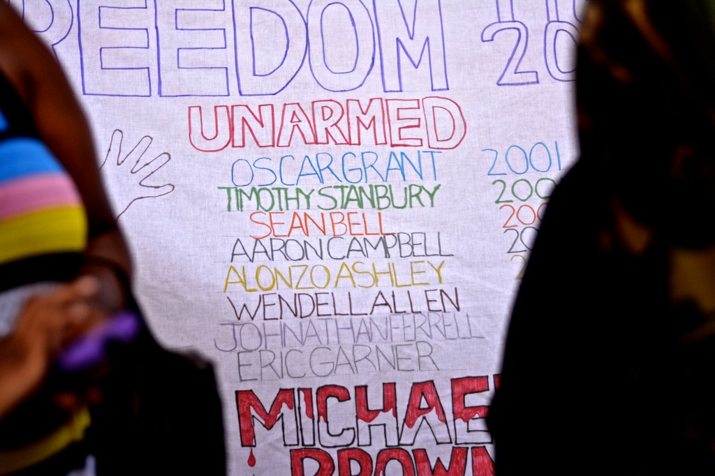List of unarmed people killed by police.