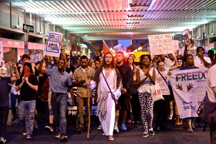 PHOTOS: Two days of #Ferguson protests in Philly