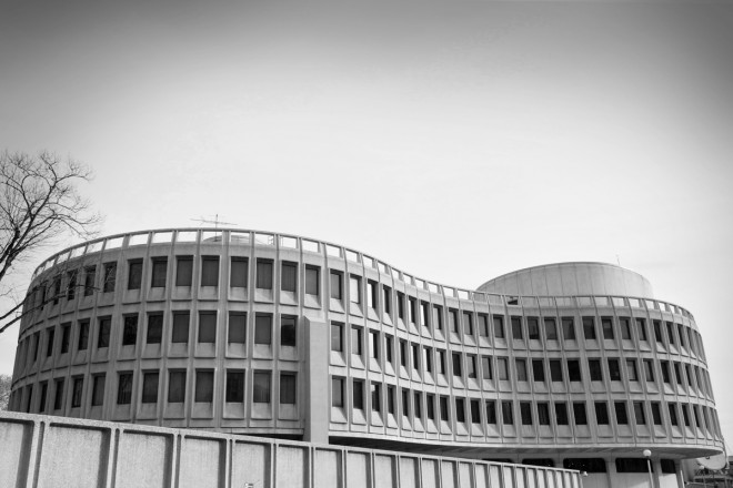 Philadelphia Police Department headquarters. Photo: Peter Woodall