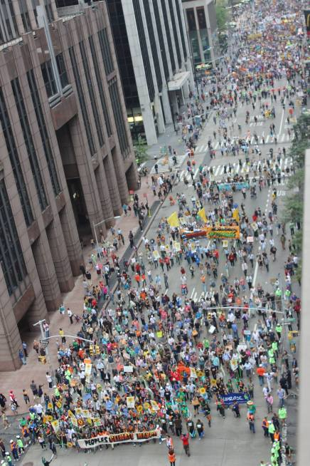 Philadelphia Students, Others, Descend on New York City for Historic People's Climate March