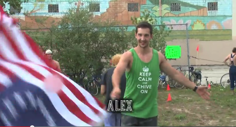Alex the Russian loves America.