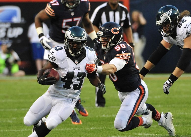 Eagles running back Darren Sproles. Photo: David Banks/USA Today Sports