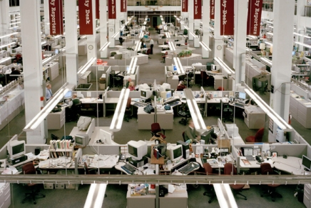 """DEADLINE"": Will Steacy spends 5 years photographing Philadelphia Inquirer Newsroom decline for new book"
