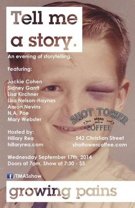 Growing Pains: Storytelling with Nikki AllenPoe