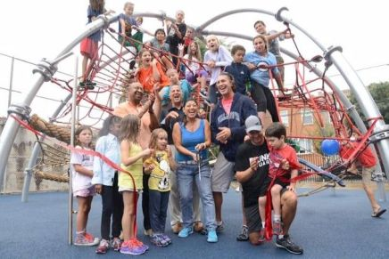 New playground opens at Jackson Elementary School