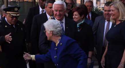 Video: Governor Corbett Signs Revictimization Relief Act Amid Loud Protest