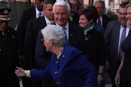 Video: Governor Corbett Signs Revictimization Relief Act Amid LoudProtest
