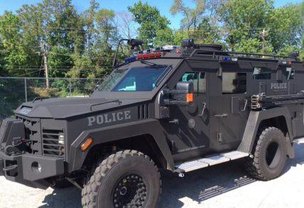 BearCat. Photo: Haverford Police Department Twitter account.