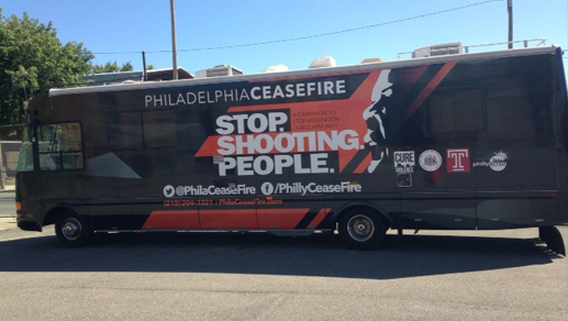 The Mobile Crime-Fighting Office. Image via Philadelphia Ceasfire