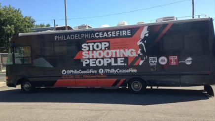 """Philadelphia Ceasefire Winnebago – """"Stop. Shooting.People"""""""