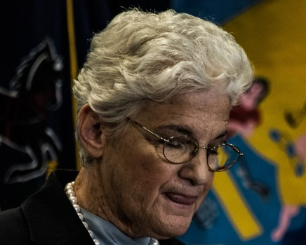 """Lynne Abraham Officially Enters the Mayor's Race, with Mummers and a """"WhyNot?"""""""