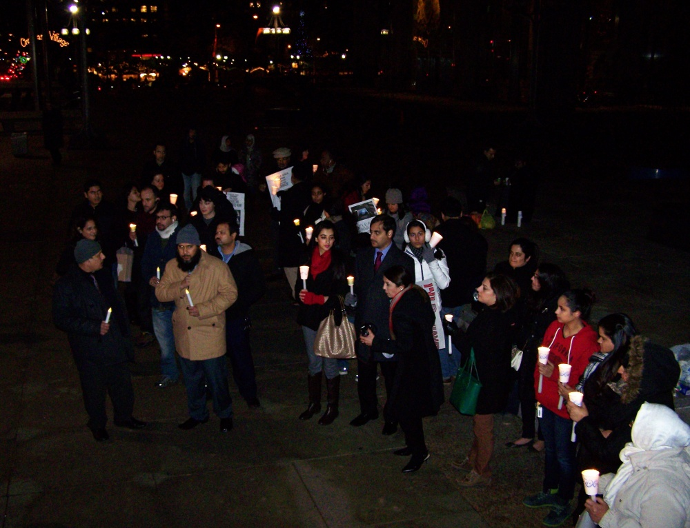Mourners at Philly Vigil for Victims of the Peshawar Massacre Warn Against Reactionary Violence (3/3)