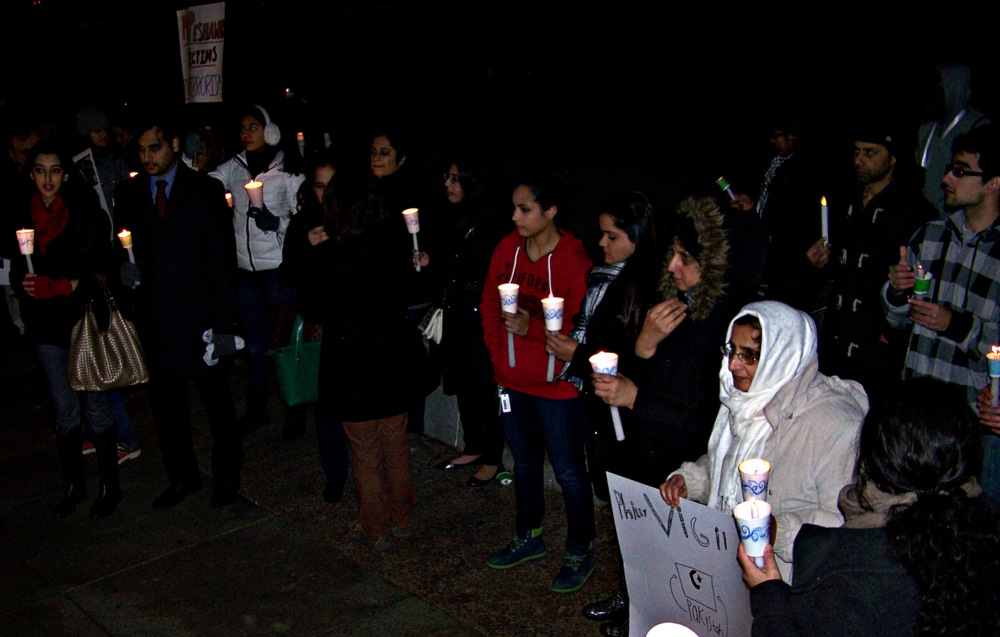 Mourners at Philly Vigil for Victims of the Peshawar Massacre Warn Against Reactionary Violence (1/3)
