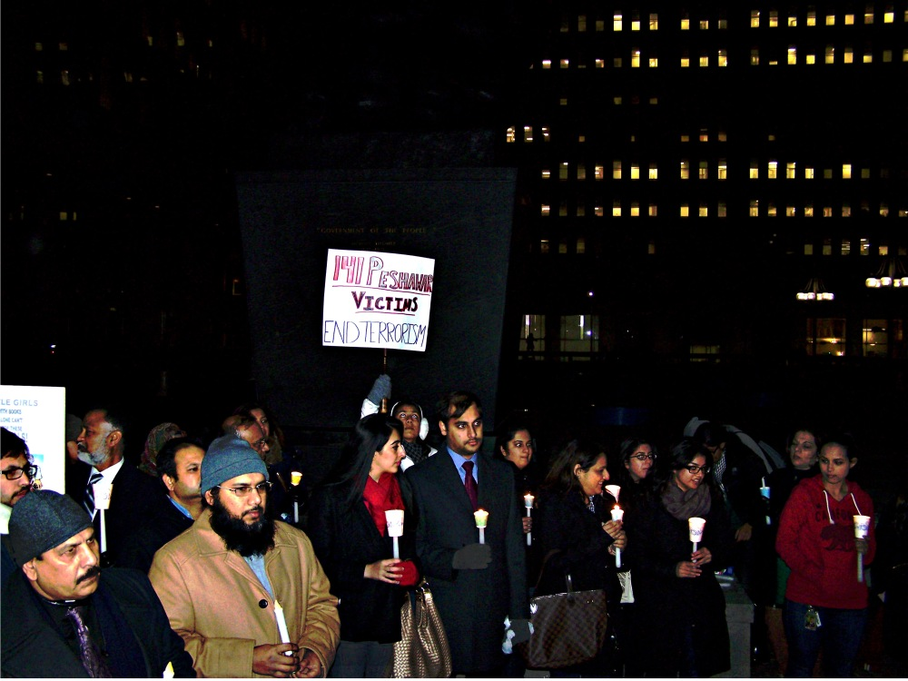 Mourners at Philly Vigil for Victims of the Peshawar Massacre Warn Against Reactionary Violence (2/3)