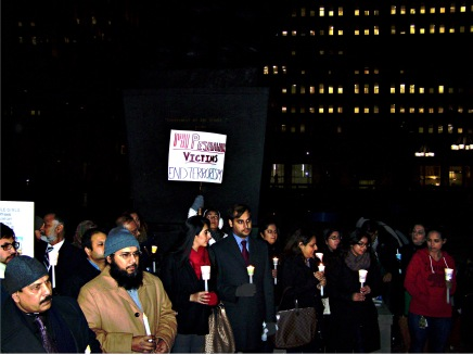 Mourners at Philly Vigil for Victims of the Peshawar Massacre Warn Against ReactionaryViolence