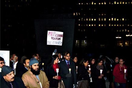 Mourners at Philly Vigil for Victims of the Peshawar Massacre Warn Against Reactionary Violence