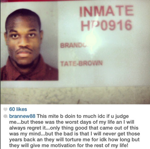 What Happened to Brandon Tate-Brown? (2/4)