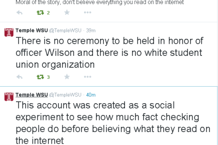 """Temple White Student Union Outs Itself as a Troll """"Experiment"""""""