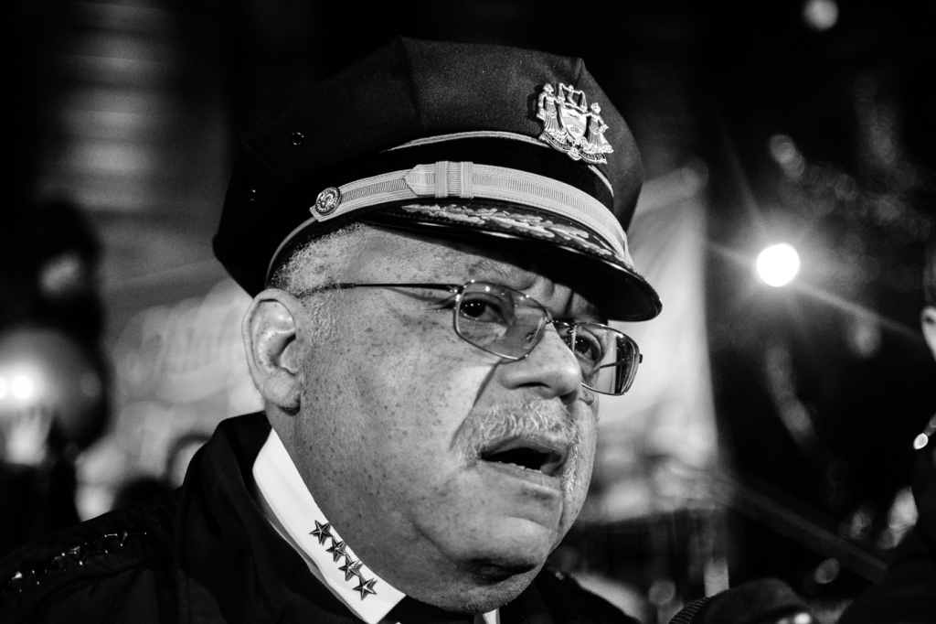 Philadelphia Police Commissioner Charles H. Ramsey. Photo: Joshua Albert