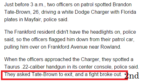 What Happened to Brandon Tate-Brown? (4/4)