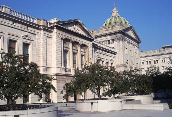 Capitol Building, Harrisburg PA. Photo: History.com