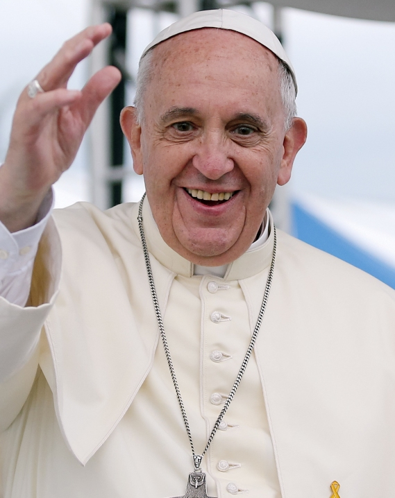 Pope Francis. Photo: Wikimedia.org
