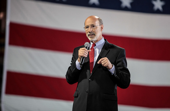 Newly-inaugurated Governor Tom Wolf. Photo: WolfForPA.com