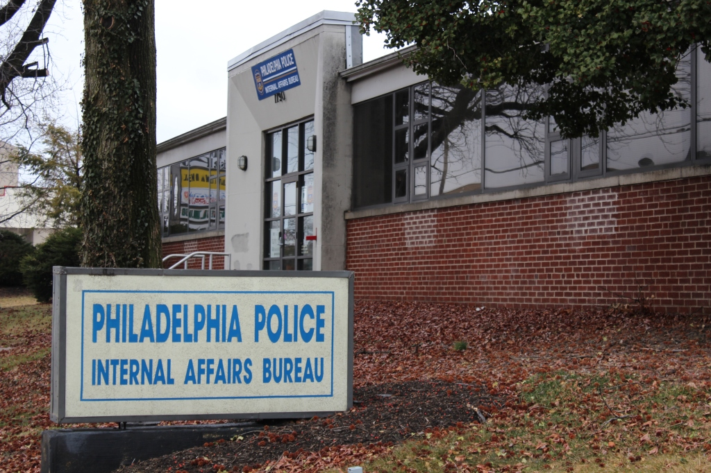 Philly Police Internal Affairs Division on Dungan Road in northeast Philadelphia. Photo by Kenneth Lipp