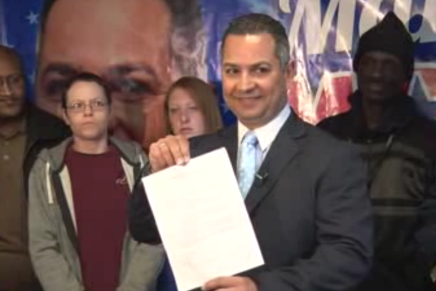 Manny Morales' Press Conference Denying Facebook Posts and Staying in Race is Amazing