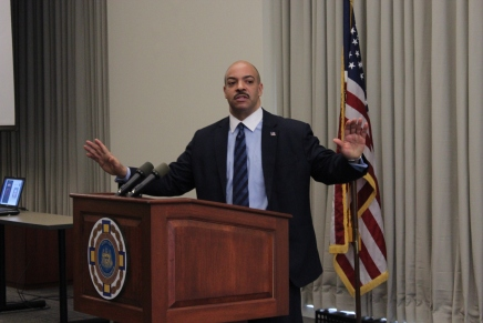 Seth Williams Announces Arrest of ICE Agent for Stealing fromDeportees