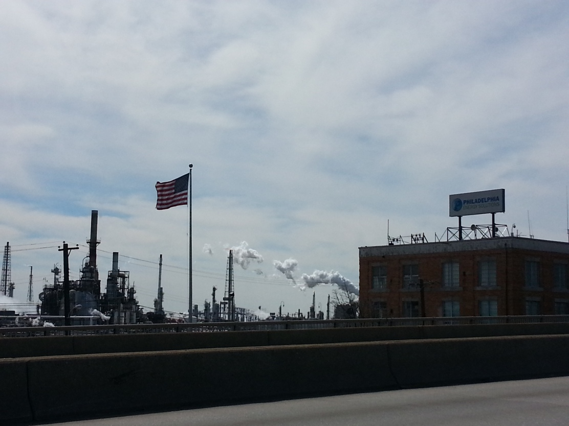 Philadelphia Energy Solutions owns and operates the largest refinery on the east coast. Photo: Dustin Slaughter