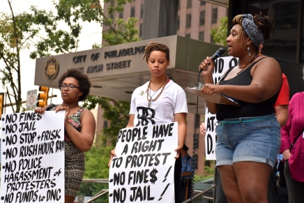 DNC Protesters to City: We Are Marching, Permits Be Damned