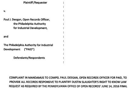 Declaration Editor Files Legal Action for DNC FundraisingRecords