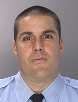 Former Philadelphia Police Officer Christopher Hulmes. Photo courtesy of the Philadelphia Police Department.