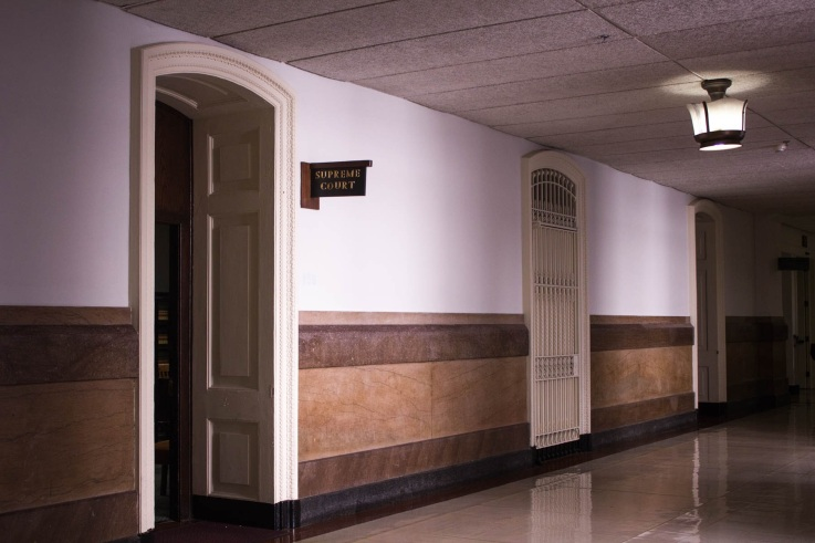 The Pennsylvania Supreme Court's Philadelphia Courtroom. /Kristi Petrillo