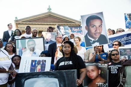 In Photos: Vigil for Victims of Gun Violence inPhiladelphia
