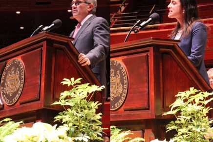 Krasner, Rhynhart Sworn in as New DA and as City Controller